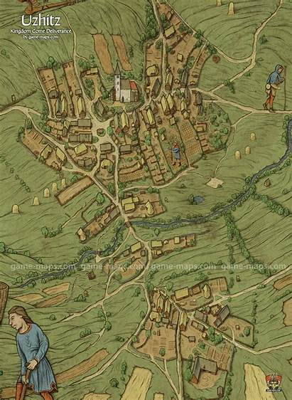 Map Kingdom Come Deliverance Maps Kcd Village