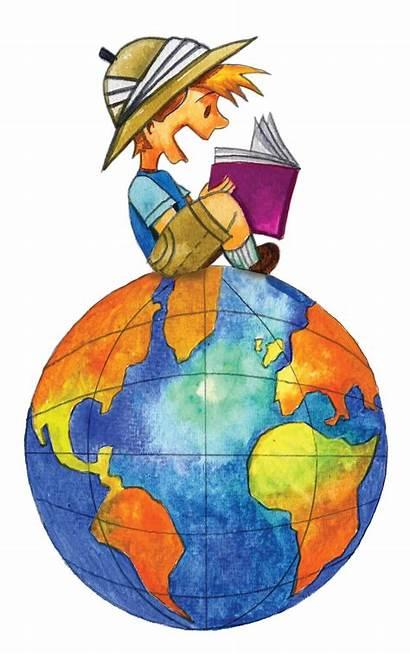 Clip Boy Keeping Reading Books Manual Many