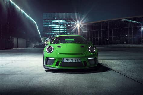 2018 Porsche 911 Gt3 Rs Front, Hd Cars, 4k Wallpapers