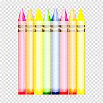 Clipart Writing Crayons Colors Icon Crayon Transparent