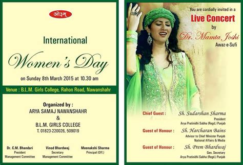 Dr Mamta Joshi Live On International Women's Day