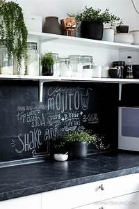 Tafel Küche Kreide : 1001 ideen f r wandgestaltung k che zum entlehnen ~ Sanjose-hotels-ca.com Haus und Dekorationen