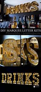 25 best ideas about diy marquee letters on pinterest With michaels marquee letters