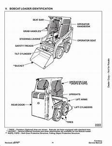 Bobcat 440b Skid Steer Loader Service Repair Workshop Manual