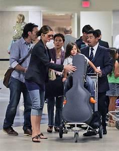 Jill Hennessy and Family at LAX 1 of 8 - Zimbio