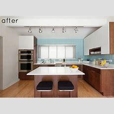 Before & After Modern Kitchen Renovation  Design*sponge