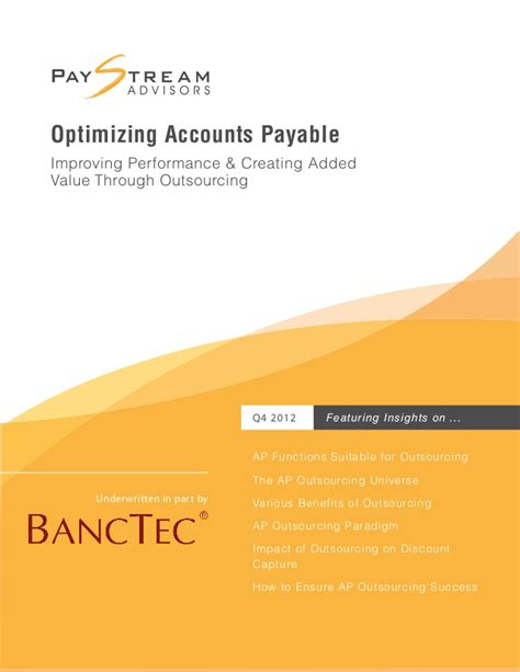 Optimizing Accounts Payable  Whitepaper By Banctec  Bpo. Sr22 Insurance Nebraska Home Mortgage Company. Top 10 Banks California Fat Burning Treadmill. Online Marketing Companies Insurance For Rvs. Becoming A Marriage And Family Therapist. Natural Ways To Treat Rheumatoid Arthritis. Business Administration Management. Centurylink Security Software. Pittsburgh Self Storage Best Running Playlist