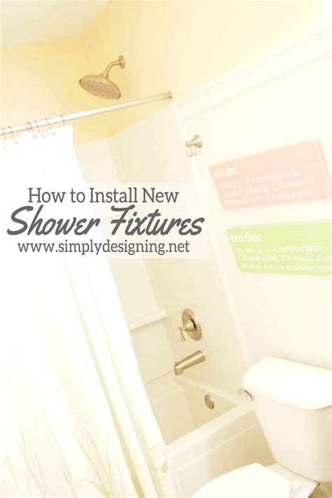 how to replace shower how to install a new bathtub faucet when it is