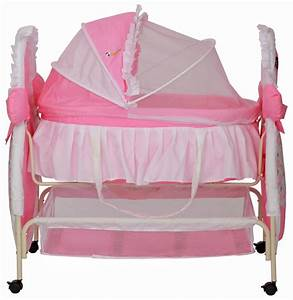 Buy Delia Baby Bassinet - Pink Online In India @ Best Price