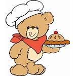 Baker Clipart Bears Bear Chef Teddy Cartoon