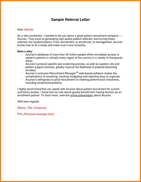 referral cover letter sles lpn travel sle