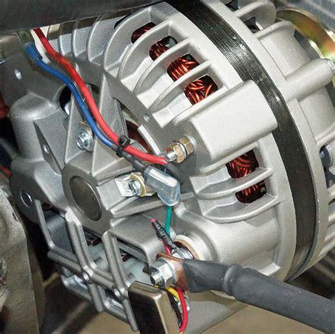 Mopar Squareback Alternator Wiring Diagram charging system upgrade with a tuff stuff alternator