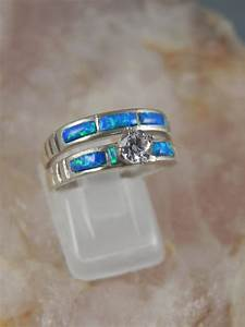native american opal wedding ring set With american wedding rings