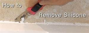 how to remove silicone sealant from a bath or shower With best way to remove bathroom caulk