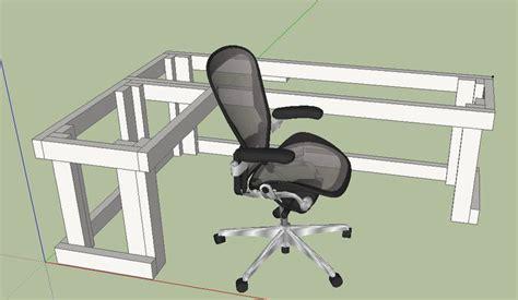 diy l shaped desk plans diy l shape computer desk design diy pinterest