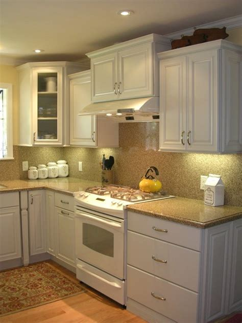 small white kitchen west san jose ca traditional