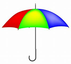 10+ Umbrella With Raindrops Clip Art