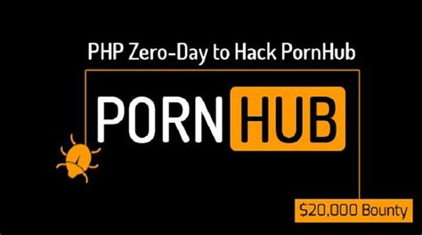pornhub pays hackers   find  day flaws
