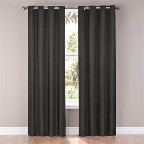eclipse thermalayer curtains walmart eclipse casey blackout energy efficient grommet polyester