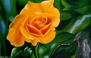Gelbe Rose Bedeutung : gelbe rose von kafi at k nstler kunst und kunstwerke ~ Whattoseeinmadrid.com Haus und Dekorationen
