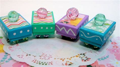 minute trinket box craft  mothers day youtube