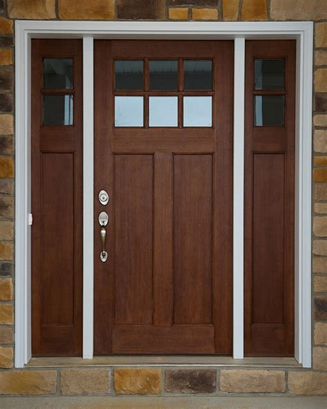 mission style front door hints on buying craftsman style entry doors interior