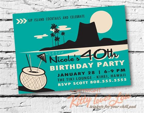 printable birthday invitation digital pdf bridal