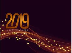Happy New Year 2019 greeting background Download Free