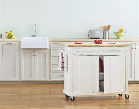 Ideas Real Simple Rolling Kitchen Island ? 3 Design