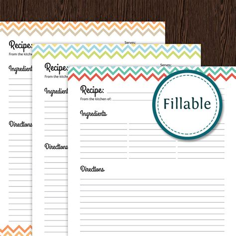 templates for word 2 pages full page recipe template for word template business