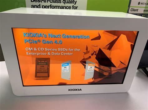 kioxia unveils enterprise class storage solutions
