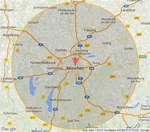 Möbelhaus München Umgebung : landkarte m nchen umgebung deutschland karte ~ Orissabook.com Haus und Dekorationen