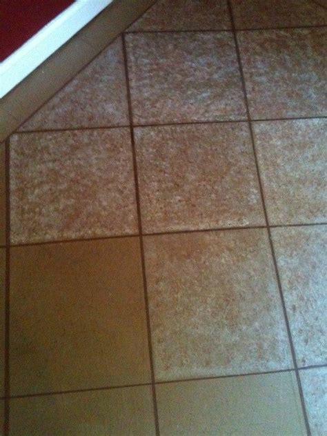 painting paper floor    tile brown paper bag