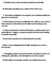 Essay topics on police brutality - Outline for term paper sample ...