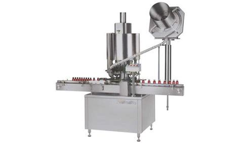 innovative stainless steel automatic vial cap sealing machine    rs  set id