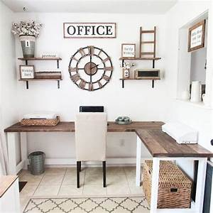 42, Best, Ideas, For, Decorating, Your, Office, At, Work