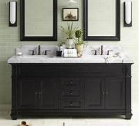 black bathroom vanities Black And White Bathroom Vanities - A Contemporary Twist ...