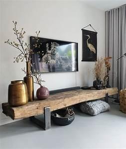 La Maison Möbel : super coole tv m bel von bahnschwellen d co maison deco ~ Watch28wear.com Haus und Dekorationen