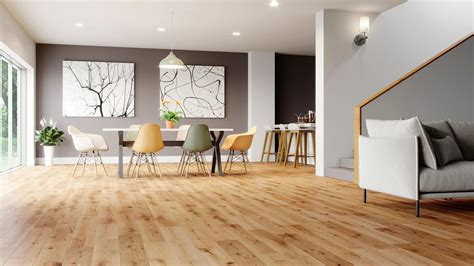 Living Room Designs With Oak Flooring by Natura Solid Oak Wood Flooring