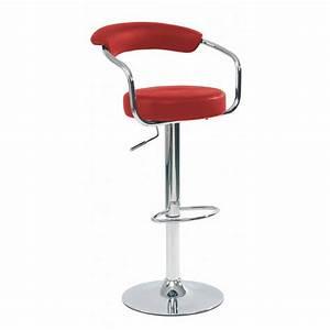 Chaise De Bar Rouge : chaise bar rouge ~ Teatrodelosmanantiales.com Idées de Décoration