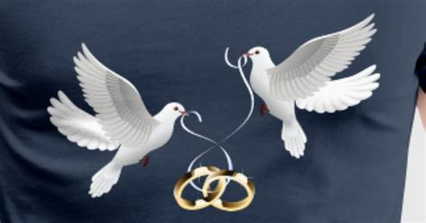 wedding doves rings by sergej bodak spreadshirt