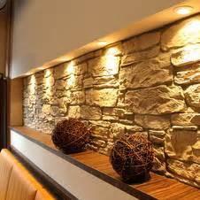 wandgestaltung mit stein wandgestaltung wohnzimmer stein