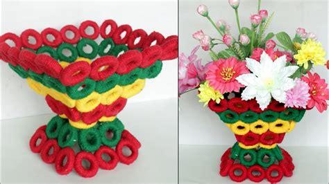 wow beautiful decorative flower basket making  home