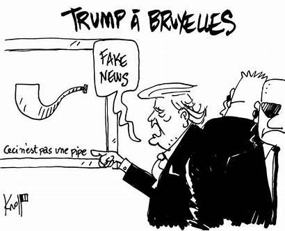 Kroll Trump Dessin Donald Caricature Pierre Cartoon