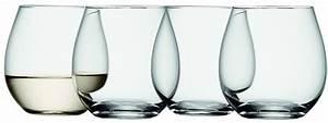 Wassergläser Mit Stiel : lsa weinglas wine ohne stiel 370ml klar 4er set kaufen ~ Buech-reservation.com Haus und Dekorationen