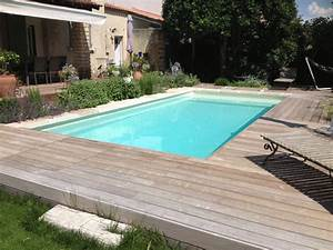 creation d39un jardin et amenagement autour d39une piscine With amenagement d une piscine