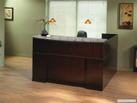 Traditional Reception Desk by Reception Traditional Office Styles Modern