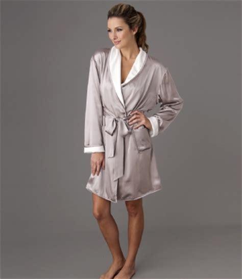 robe de chambre femme soie robe de chambre croisee en soie il cieli spa insilk soie