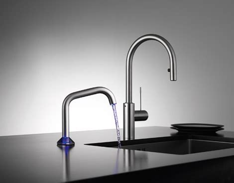 Semi Automatic Faucet by KWC   new USO touch faucet