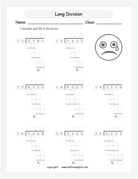 long division with 2 digit divisors worksheets the best